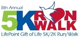 LifePoint Gift of Life 5k/2k Run/walk